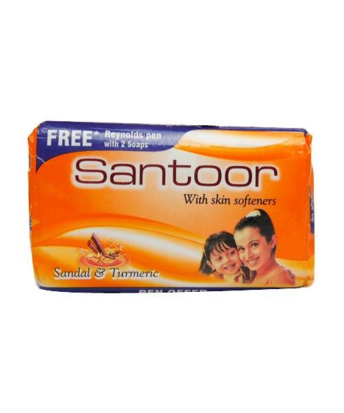 Hyderabad Freebie : Free Sample 40gm Santoor Soap