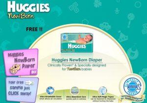 Freebie: Free Huggies Diapers Sample