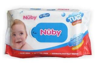Shopclues Outrageous Sale: 80 Pc Nuby Disposable Wet Wipes at Rs.39 + Shipping
