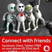 Vodafone Super Week Access FaceBook Twitter and Orkut FREE