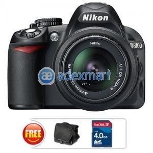 Nikon D3100 DSLR with 8-55mm NIKKOR VR Lens @ 21590