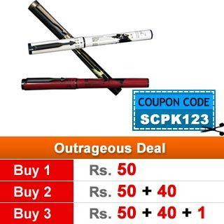 [Xpired]Shopclues Parker Sale: 3 Parker Special Millennium Edition Pen at just Rs.91