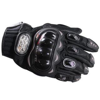 Pro-Biker Riding Black Gloves