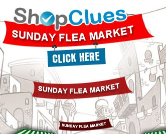 Shopclues Sunday Flea Market: 8 GB Sandisk Cruzer at Rs.193 , Food Containers for Rs.153, Reebok Deodorants for Rs.73 and many more