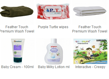 [Hurry!!] Register and get lot of products at just Rs.50 with Free Shipping @ Hushbabies