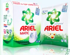Free Sample of 200gm Ariel Matic from Rewardme.in