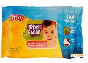 Nuby Premium Wash Towel for Rs.97 and Disposable Wipes (80 Sheets) for Rs.99 at Hushbabies