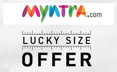 Myntra Lucky Size Sale: Upto 66% OFF