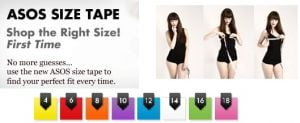 FREEBIE: Free ASOS Size tape for your Body Attire Measurements