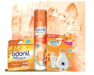 Free Sample: Odonil Air Freshener By Dabur