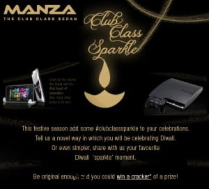 Tata Manza Offer: Upload your Diwali Pics and Claim Your FREE Gift