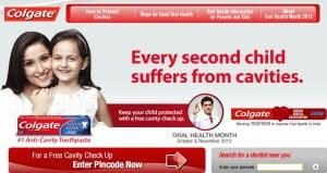 Free Dental Check Up by Colgate