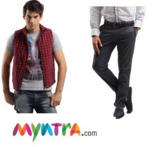 70% OFF +Rs.500 Off on New Registration on Myntra – T-shirts @ Rs.120, Sandals @ Rs.135 & more