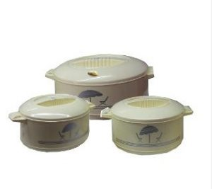 Cello Set of 3 Casserole for Rs.538 only (Rs.179 each) @ Homeshop18