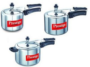 Flat 30% Discount on Induction Friendly Prestige Pressure Cooker (2 Ltr for Rs.615, 3 Ltr for Rs.741, 5 Ltr for Rs.981)