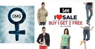 [Hurry!!] Buy 1 Women Lee Apparel & Get 2 Women Lee Apparels Absolutely FREE