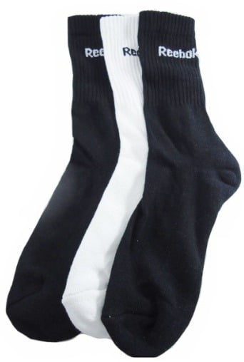 Shopclues Jaw Dropping Deal: Reebok Men's Socks (Pack of 2) worth Rs.198 at Rs.58