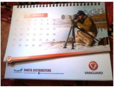 Freebie: Free 2013 Vanguard Table Calendar by Vanguard Photo India