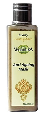 Vedantika Herbals Anti Ageing Mask worth Rs.200 at Rs.70 From Satvikshop