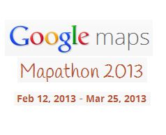 Google Mapathon 2013 – Win Android tablets, phones and more