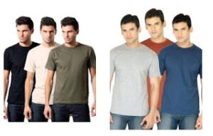Pack of 3 Round Neck T-Shirts