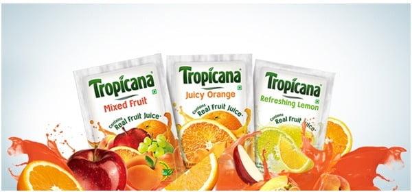 Free Sample of Tropicana Fruit Powders @ Trysmartsample