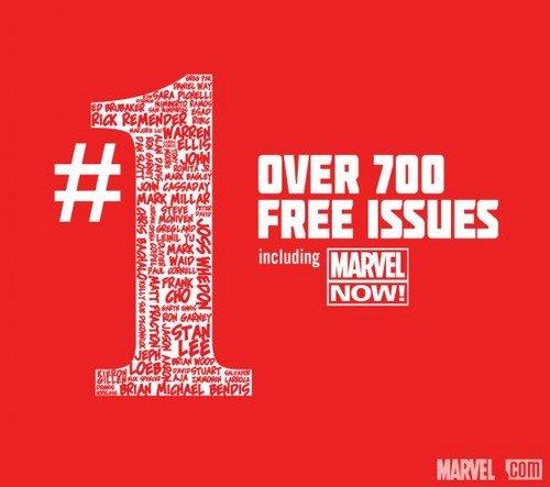 Grab 700 + Free Issues of Marvel Digital Comics FREE