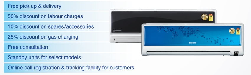 50% OFF on Samsung AC Service for this Summer season