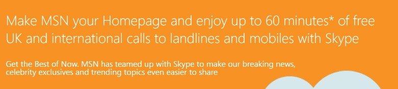 Freebie: Free 60 Minutes Skype World Wide Calling Credit