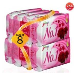 Godrej No.1 Soap - Set of 8