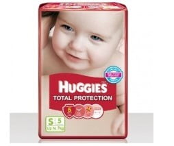 Free sample of Huggies Total Protection