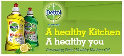 Free Sample: Free Dettol India Kitchen Gel Samples