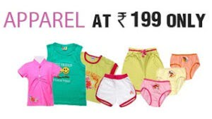 Kids Clothes & Shoes for Rs.199