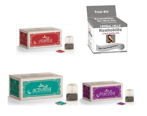 Free Sample of Unived's Speciality Tea, Vitalitea