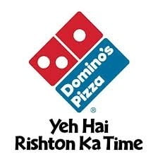 Dominos Offer: Buy 1 Get 1 Free on Medium or Large Size Pizza