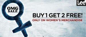 Myntra Offer: Buy 1 Lee Women Jeans /Capris /Legging / Jeggings / Tops