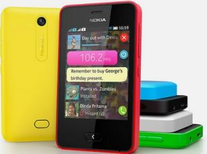 Dual SIM Nokia Asha 501