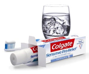 [Back Again] Free sample of Colgate Sensitive pro-relief