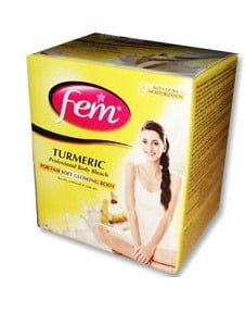 Free FEM Turmeric bleach pack to every participant & Chance to win Trip to Bangkok