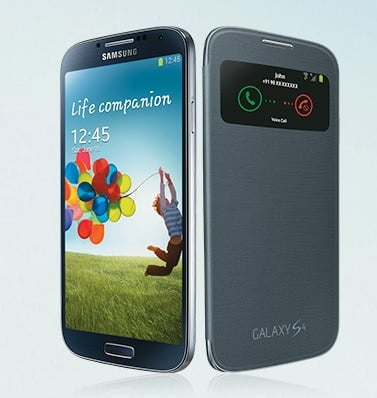 Free S-View Cover for Samsung Galaxy S4 Owner worth Rs.2999