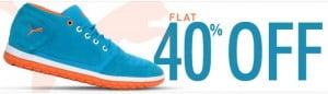 Flat 40% Off on Puma Shoes