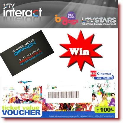 UTV Interact Panel: Complete Survey & Movie voucher for free
