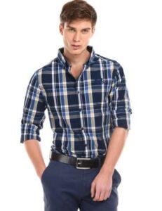 Myntra Offer: Buy 1 Get 2 Shersingh Quality Casual Shirts