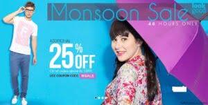Monsoon Sale at Myntra