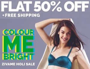 Enjoy Flat 50% Discount on Women's Inner-Wear (Free Home Delivery)