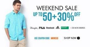 Myntra Weekend Sale: Upto 50% off