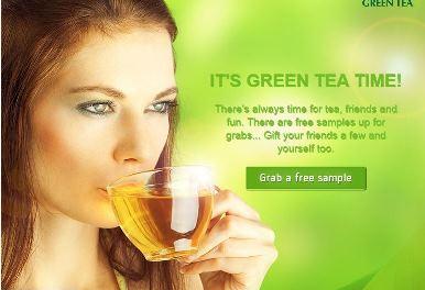 Free Sample of Tetley Green Tea