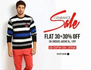 Myntra Clearance Sale: Flat 30%