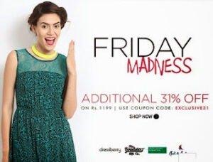 Myntra Friday Madness