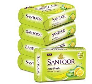 Santoor Soap (125Gm x 5)